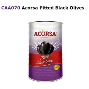 Acorsa Pitted Black Olives