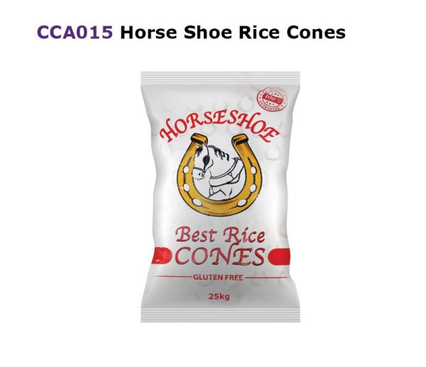HORSE SHOES RICE CONES