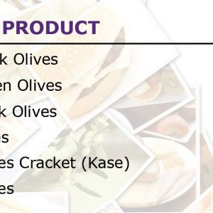 Olives Products